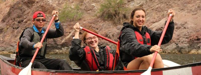 UNLV PEX Canoe Trip