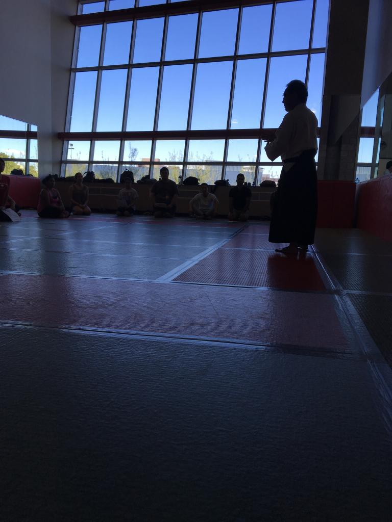 aikido class